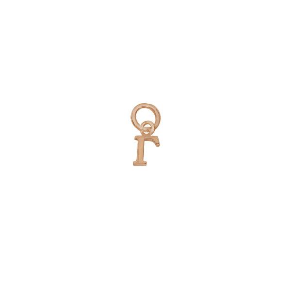 Золотая подвеска-буква «Г»