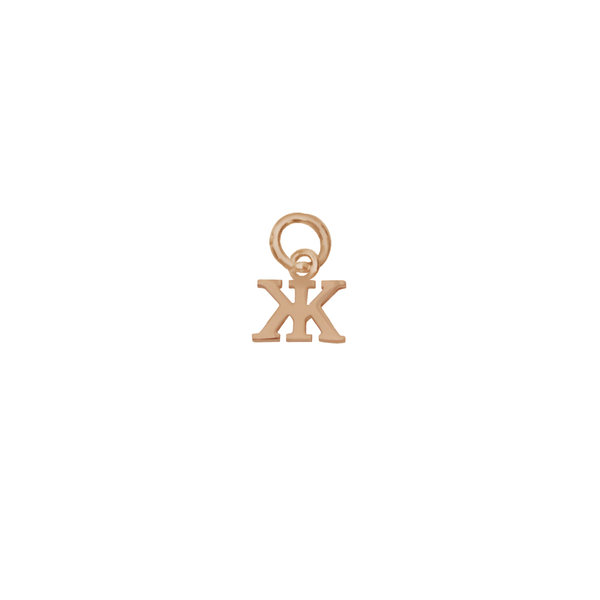 Золотая подвеска-буква «Ж»
