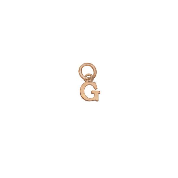 Золотая подвеска-буква «G»