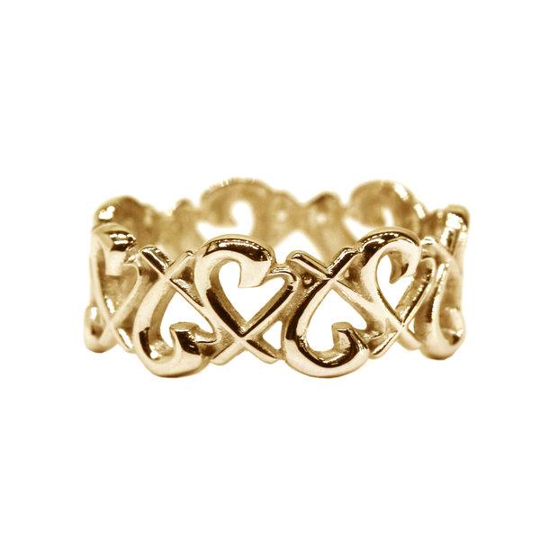 Кольцо помолвочное из желтого золота
