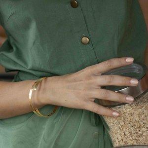 Серебряный браслет с позолотой с именами