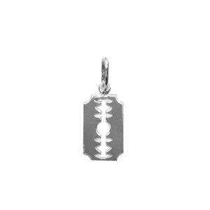 Серебряная подвеска «Лезвие»