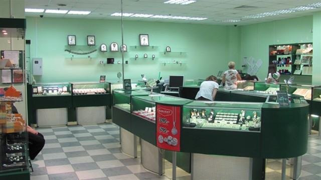 Ювелирный магазин в Курске, ул. Дзержинского, 25